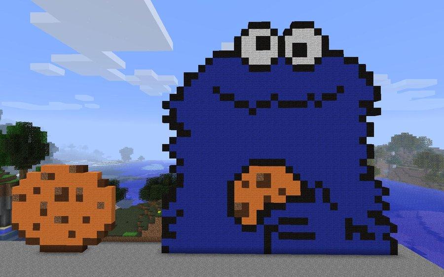 Minecraft Cookie GUUID Eucharist
