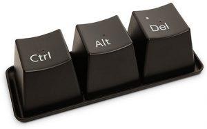 Computer Reboot Control Alt Delete
