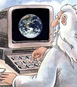 God on Computer
